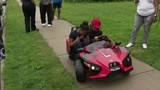 Lions' Quandre Diggs helps surprise Hamtramck boy with new Slingshot car