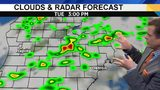 Metro Detroit weather forecast: Slight Risk for severe weather Tuesday