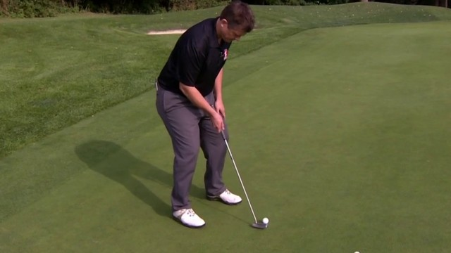Golf tip: One-armed lag putting drill