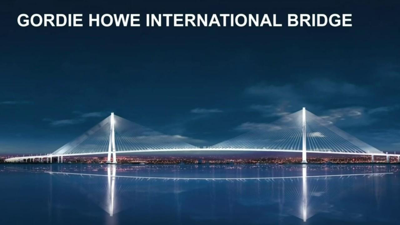 Gordie Howe International Bridge To Cost 4 4 Billion
