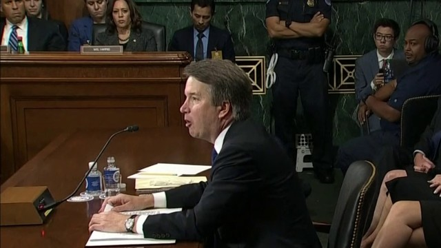 Senate Judiciary Committee meets ahead of Brett Kavanaugh's confirmation vote
