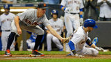 In 7th straight win, Brewers top Tigers 11-0