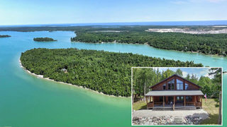 Bidding opens for private Michigan island, starting at $250K
