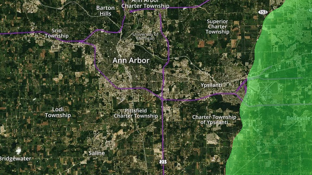 Ann Arbor Weather Radar