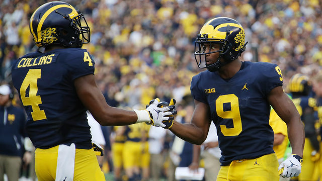 Michigan football could have 7 dangerous wide receivers this year in…