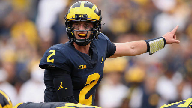 Michigan football: Does it matter that starting QB Shea Patterson isn't…