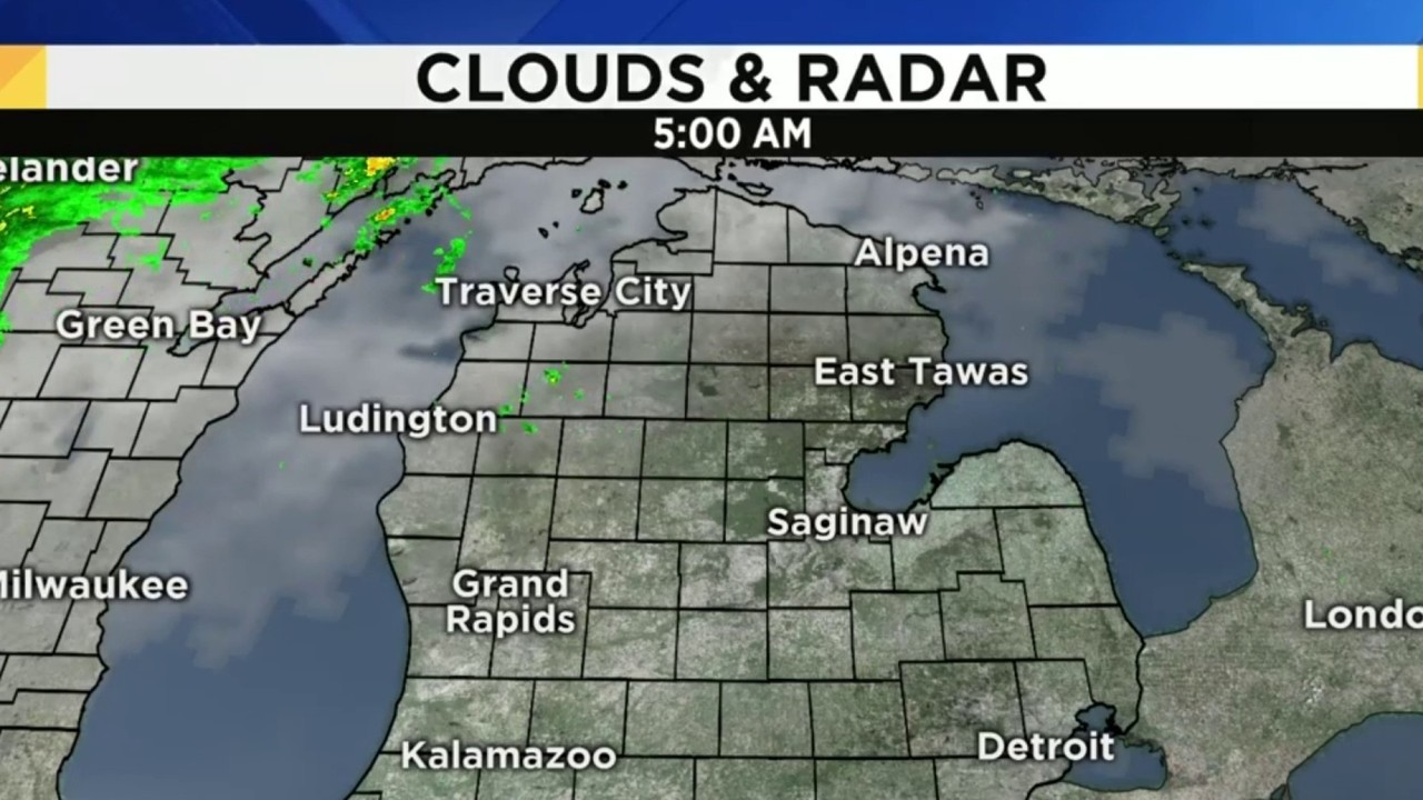 Tuesday Weather Map.Metro Detroit Weather Forecast Heat And Scattered Showers