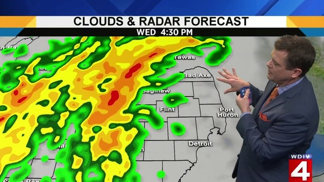 Ann Arbor weather: Marginal Risk for severe weather Wednesday