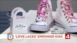 The laces empowering kids to take a stand against bullying