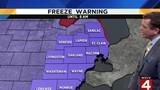 Metro Detroit weather: Freeze warning until 8 a.m. Thursday