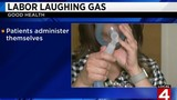 Some hospitals administering laughing gas for women in labor