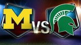 Gearing up for the big Michigan vs. Michigan State game