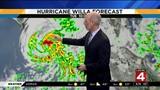 Hurricane Willa headed right for Mexico, then Texas