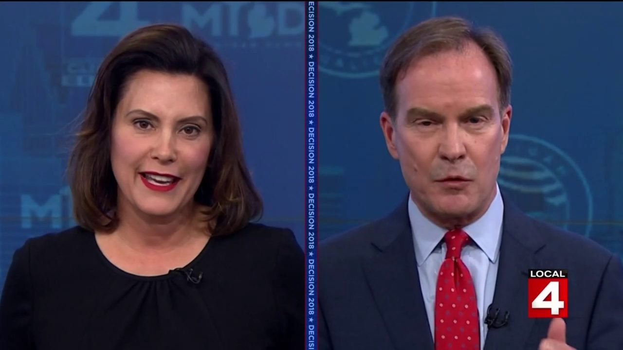 debate recap candidates for michigan governor speak to voters