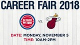 Detroit Pistons holding job fair to support military veterans