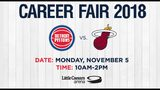 Pistons hosting career fair for military members & veterans