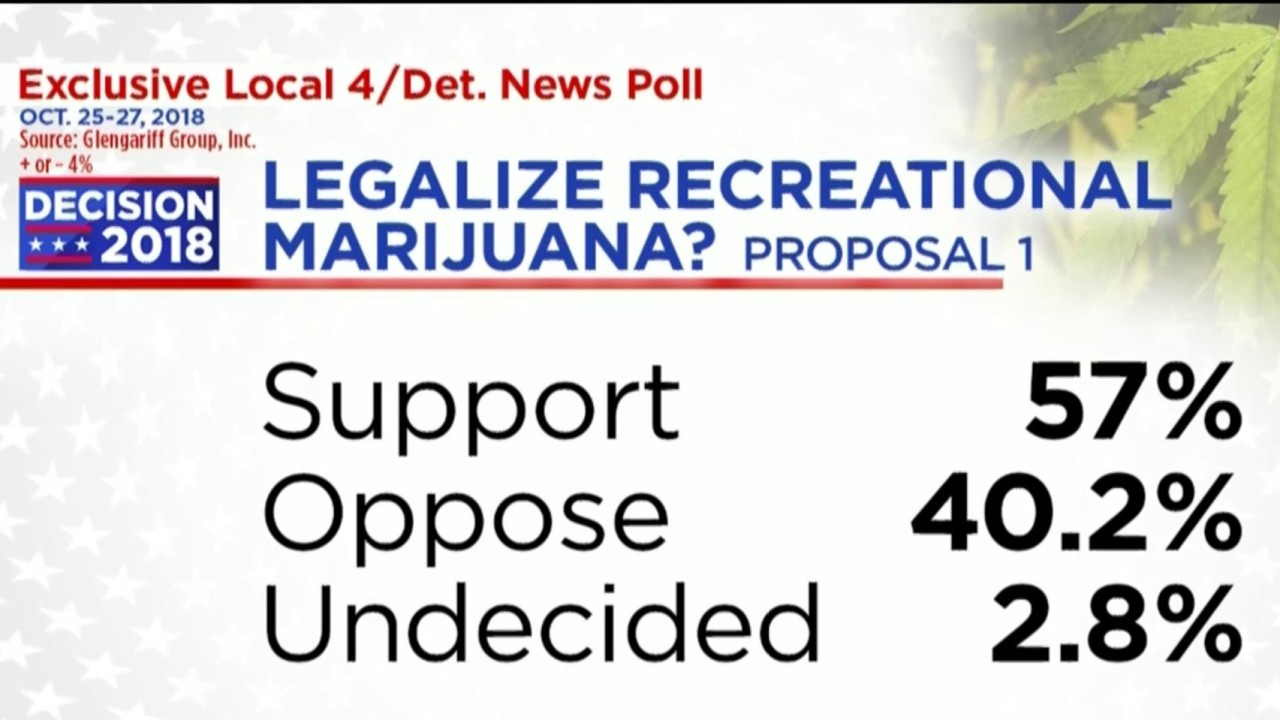 e9ad8646ef1c Video thumbnail for Poll results show possible legalization of marijuana