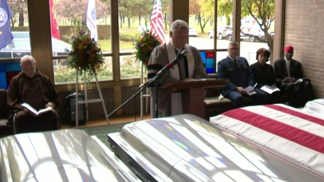Memorial held for Cantrell Funeral Home remains