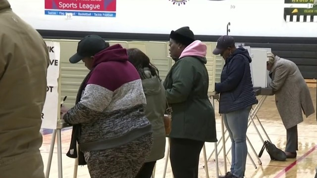Voters around Metro Detroit hit the polls on Election Day
