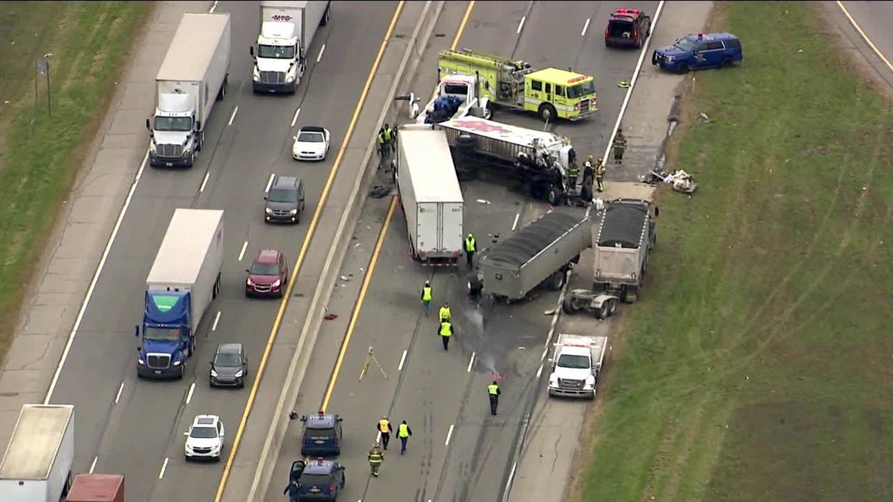 State police: Truck driver killed in crash on westbound I-96