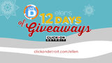 Ellen's 12 Days of Giveaways/Live in the D contest