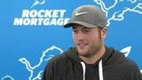 Matthew Stafford prepares for Lions-Bears game