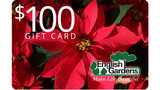 Live in the D: English Gardens Gift Card Giveaway Rules