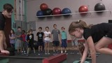 Parkour for kids helps strengthen bodies, minds