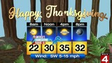 Metro Detroit Thanksgiving 2018 weather forecast: Highs in 30s