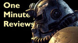 One Minute Reviews: Fallout 76