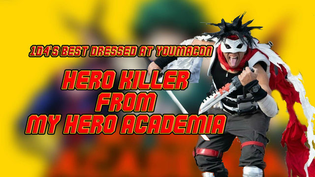 Hero Killer: 1d4's winner of best dressed at Youmacon