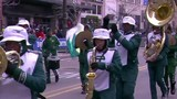 Cass Tech marching band delivers special tribute to Aretha Franklin
