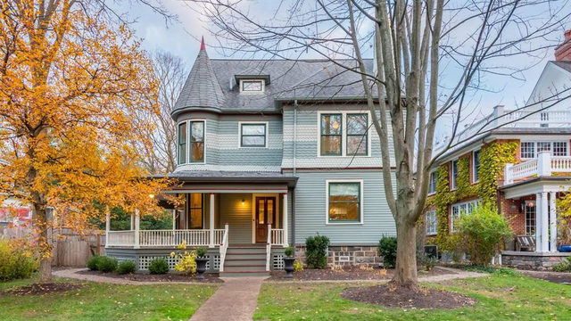 Historic Queen Anne Victorian in Ann Arbor's Burns Park for sale