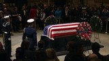 Former president George H.W. Bush's funeral Wednesday