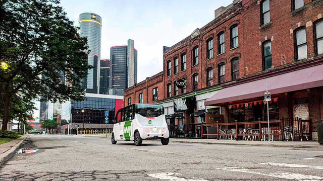 Ann Arbor's May Mobility raises $22 million to deploy driverless…