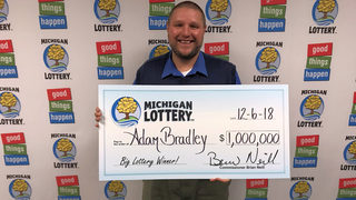 Ohio man buys Powerball ticket while visiting Michigan, wins $1 million prize