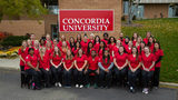 Concordia University Ann Arbor's first-ever 'Alpha' class nurses graduate