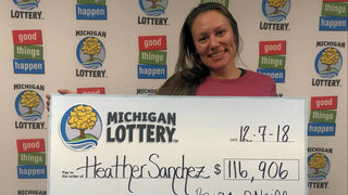 Michigan Lottery: Woman wins $116K playing Fast Cash game