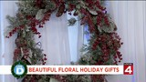 Beautiful floral gifts for the holidays