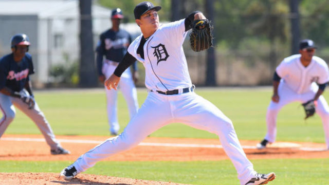 Franklin Perez, top prospect acquired in Verlander trade, makes solid…