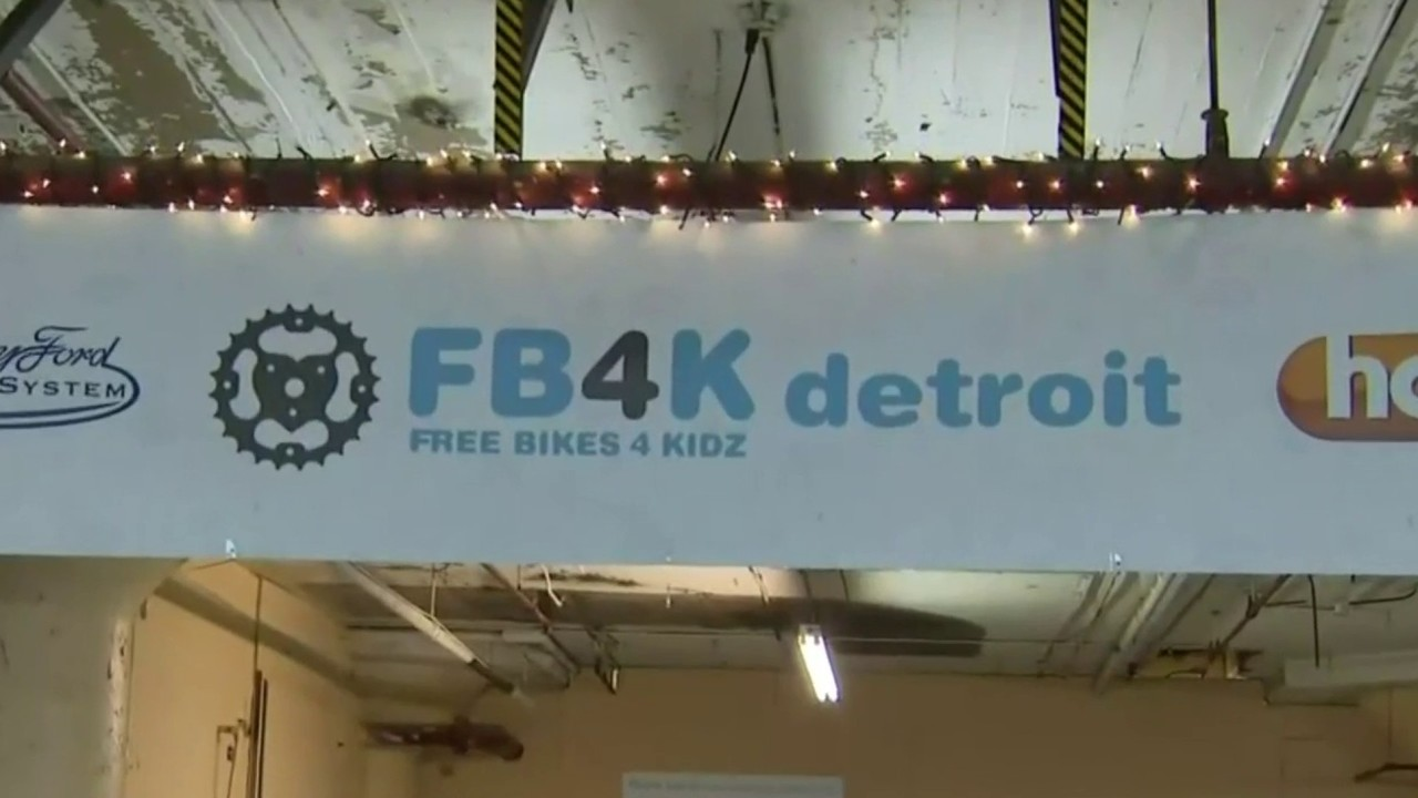 Free Bikes 4 Kids gives bicycles to Detroit children