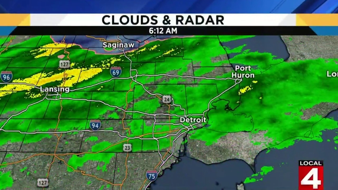 Weather Map Local.Metro Detroit Weather Highs Near 45 Degrees On Friday