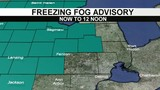 Metro Detroit weather forecast: Freezing Fog Advisory