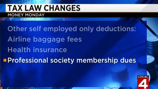 Money Monday: Tax law changes