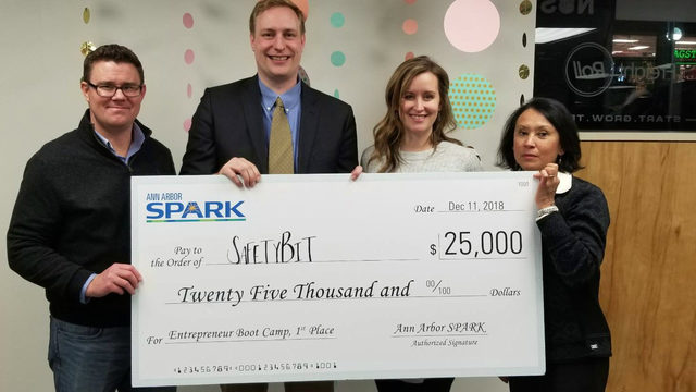 Local startup SafetyBit awarded $25K at Ann Arbor SPARK tech Boot Camp