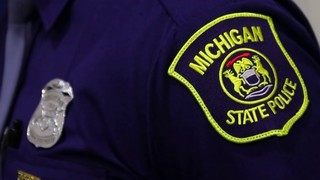 Michigan State Police car stops to assist in collision, is struck by&hellip&#x3b;