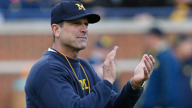 Harbaugh lands commitments from 4 top targets in one day