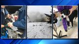 Michigan State Police troopers save dogs from burning home