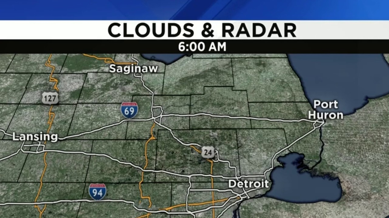 Metro Detroit Weather Forecast Brighter Not As Cold Sunday