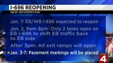 I-696 construction to take winter break on Jan. 7, construction will&hellip&#x3b;